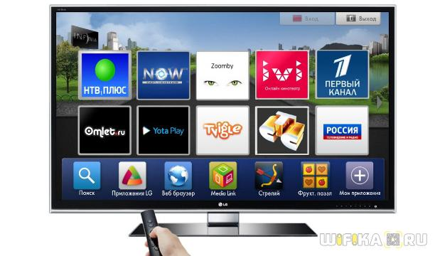 виджеты smart tv samsung lg